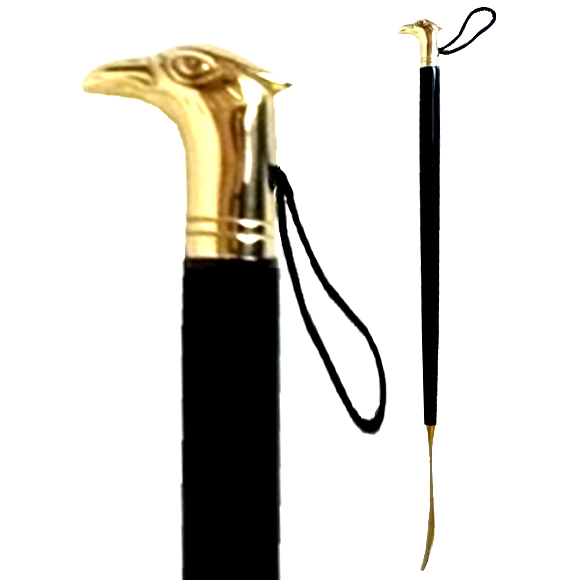 70201 GOLD EAGLE SHOEHORN